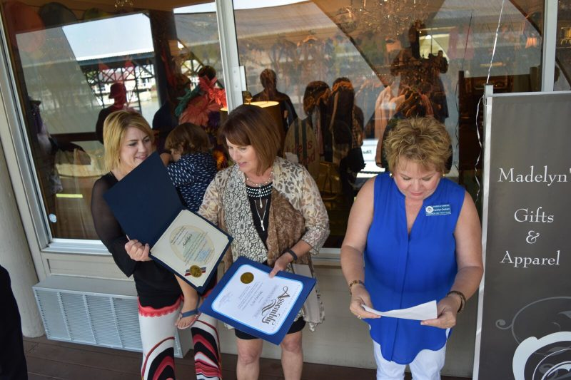 Proclamation's for Madelyn's Grand Opening