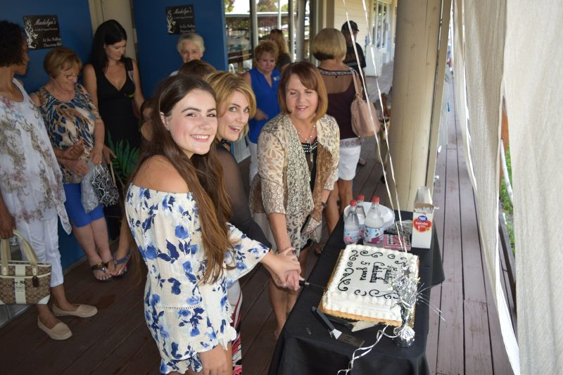 Cake Cutting for Madelyn's Boutique